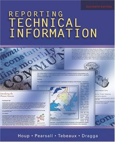 Reporting Technical Information  11th 2005 (Revised) edition cover