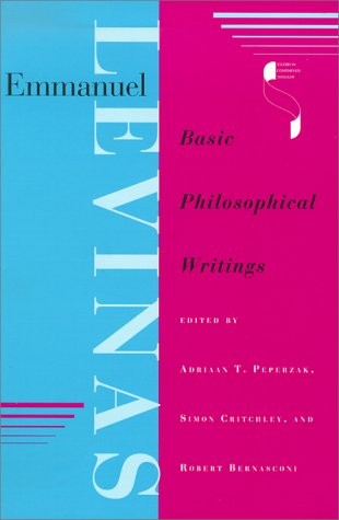 Emmanuel Levinas Basic Philosophical Writings N/A edition cover