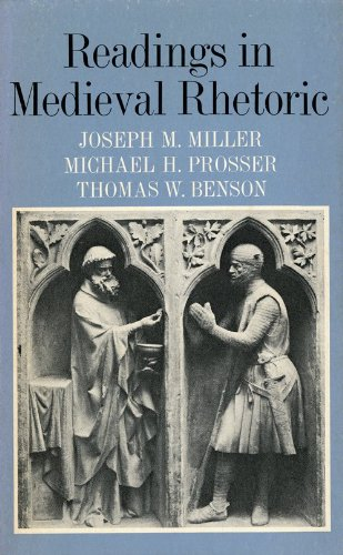 Readings in Medieval Rhetoric   1973 edition cover