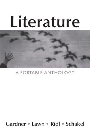 Literature : A Portable Anthology  2004 edition cover