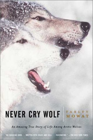 Never Cry Wolf   1996 edition cover