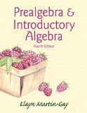 Prealgebra and Introductory Algebra  4th 2015 edition cover