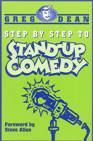 Step by Step to Stand-Up Comedy   2000 edition cover