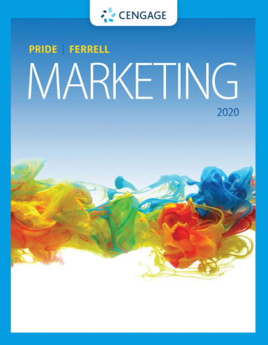 Cover art for Marketing, 20th Edition