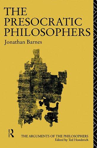 Presocratic Philosophers   1982 edition cover