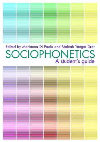 Sociophonetics   2010 (Student Manual, Study Guide, etc.) edition cover