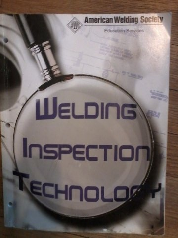 WIT-T- 2008, Welding Inspection Technology N/A edition cover