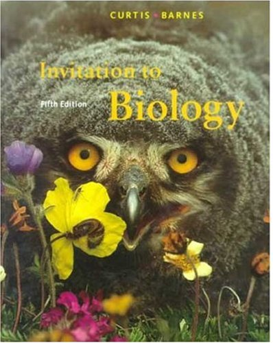 Invitation to Biology  5th 1994 (Revised) edition cover