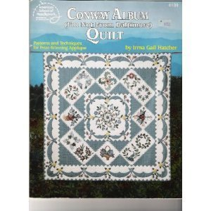 Conway Album Quilts  1992 edition cover