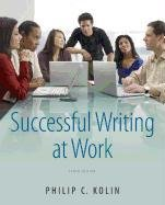 Successful Writing at Work  10th 2013 edition cover