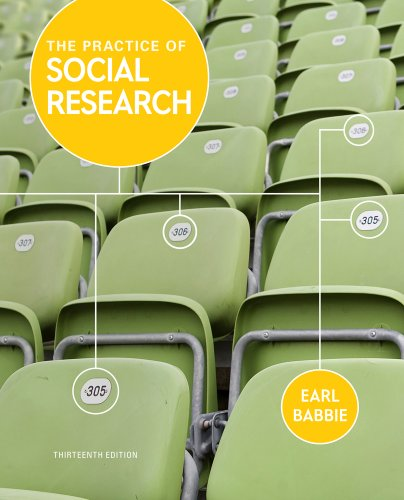 Practice of Social Research  13th 2013 edition cover