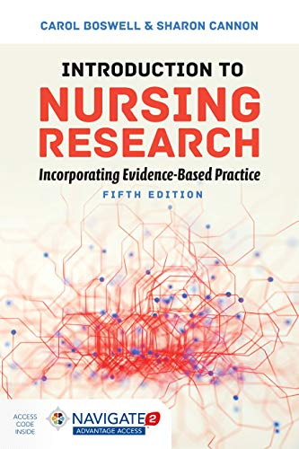 Introduction to Nursing Research Incorporating Evidence-Based Practice  5th 2020 (Revised) 9781284149791 Front Cover