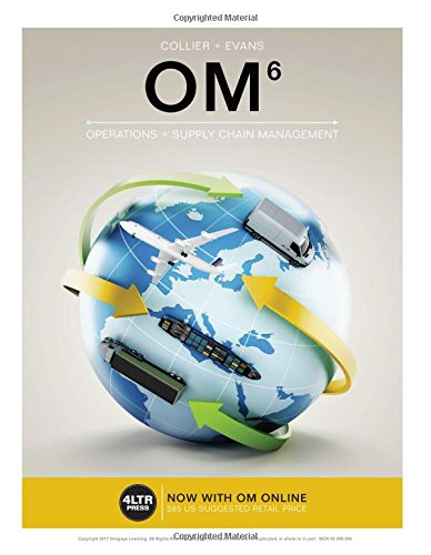 Om Operations Management:   2016 edition cover