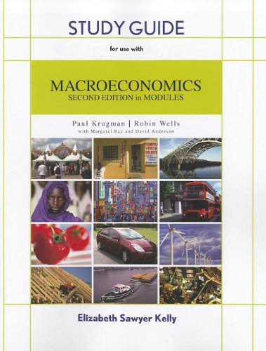 Study Guide for Macroeconomics in Modules N/A edition cover