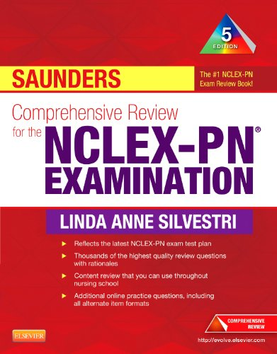 Saunders Comprehensive Review for the NCLEX-PN� Examination  5th 2013 edition cover