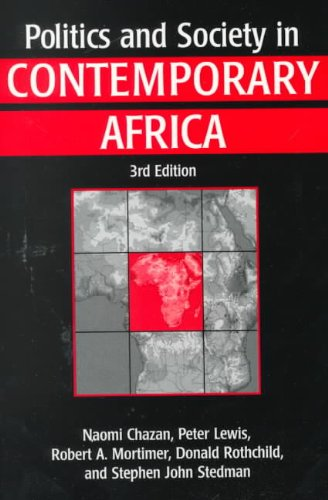 Politics and Society in Contemporary Africa 3rd 1995 edition cover