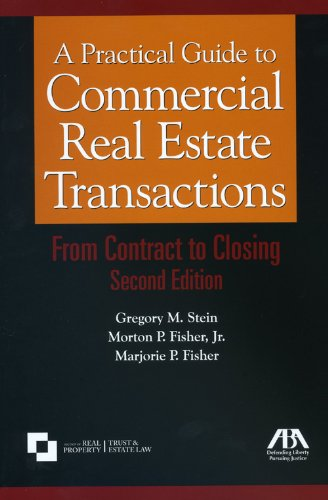 Practical Guide to Commercial Real Estate Transactions  2nd 2008 edition cover