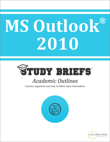 MS Outlook® 2010 1st 2015 9781634261791 Front Cover