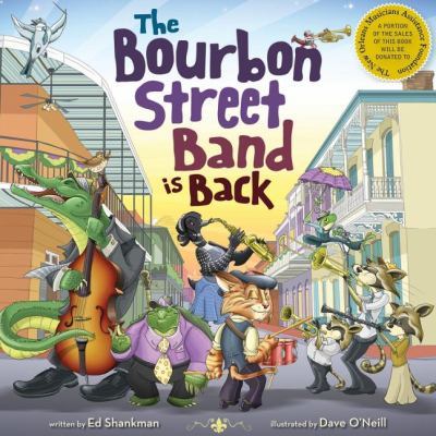 Bourbon Street Band Is Back   2011 9781933212791 Front Cover