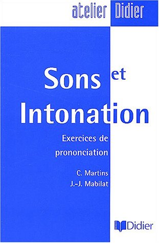 SONS ET INTONATION N/A edition cover