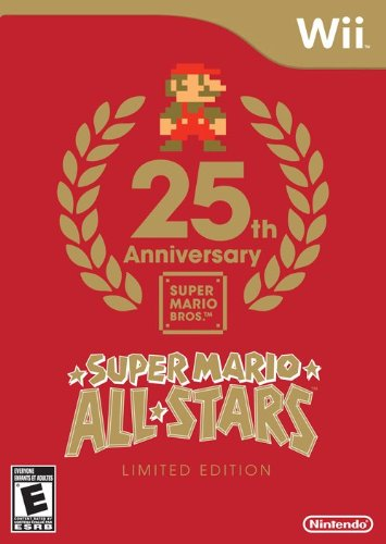 Super Mario All-Stars: Limited Edition Nintendo Wii artwork