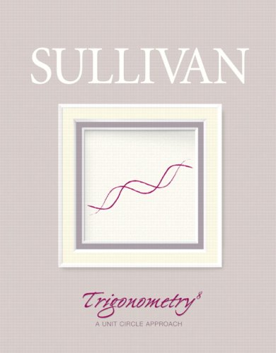Trigonometry  8th 2008 edition cover