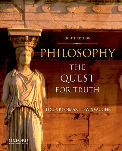 Philosophy The Quest for Truth 8th 2012 9780199751792 Front Cover
