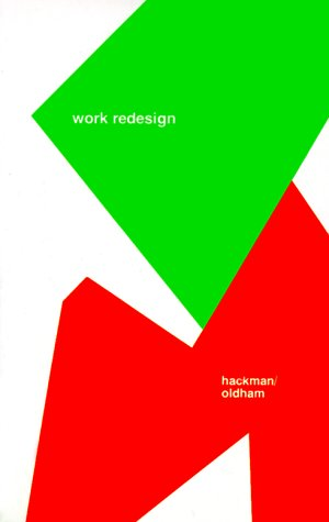 Work Redesign   1980 edition cover