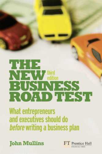 New Business Road Test What Entrepreneurs and Executives Should Do Before Writing a Business Plan 3rd 2010 (Revised) edition cover