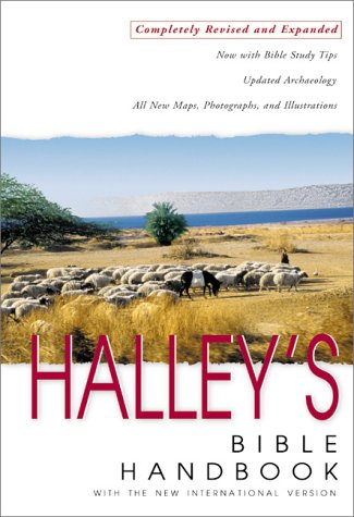Halley's Bible Handbook with the New International Version  25th 2000 (Revised) edition cover