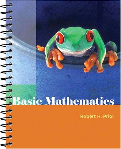 Basic Mathematics   2010 edition cover