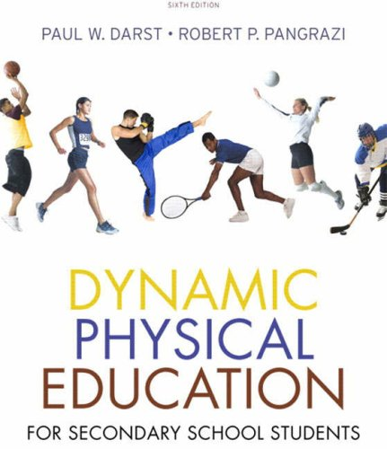 Dynamic Physical Education for Secondary School Students  6th 2009 edition cover