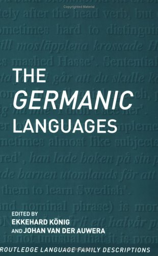 Germanic Languages   1995 edition cover