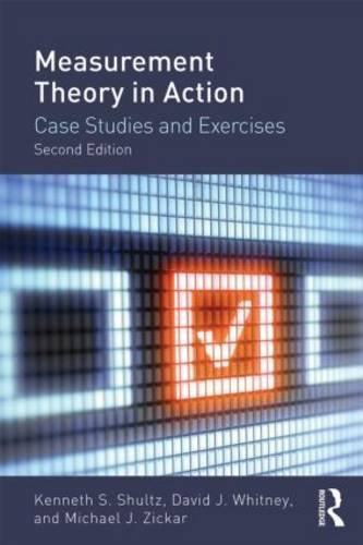 Measurement Theory in Action Case Studies and Exercises 2nd 2014 (Revised) edition cover