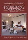 Professional Management of Housekeeping Operations  2nd 1992 9780471547792 Front Cover
