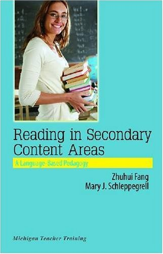 Reading in Secondary Content Areas A Language-Based Pedagogy  2008 edition cover