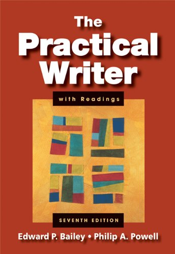 Practical Writer with Readings (with 2009 MLA Update Card)  7th 2008 edition cover
