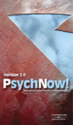 Psychonow! Interactive Experience in Psychology 10th 2004 9780534639792 Front Cover