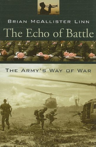 Echo of Battle The Army's Way of War  2007 edition cover
