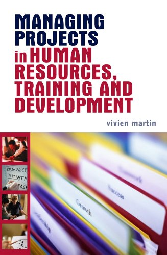 Managing Projects in Human Resources, Training and Development   2006 edition cover
