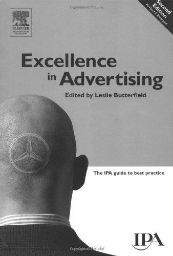 Excellence in Advertising  2nd 1999 (Revised) edition cover