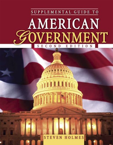 Supplemental Guide to American Government National, State, and Local 2nd 2005 (Revised) 9780757517792 Front Cover