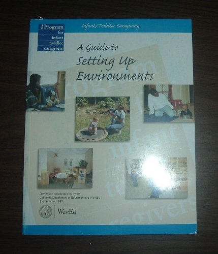 Infant - Toddler Caregiving : A Guide to Setting up Environments 1st edition cover