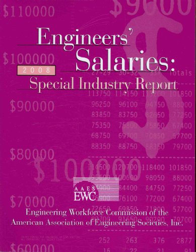 Engineers' Salaries: Special Industry Report 2008  2008 edition cover