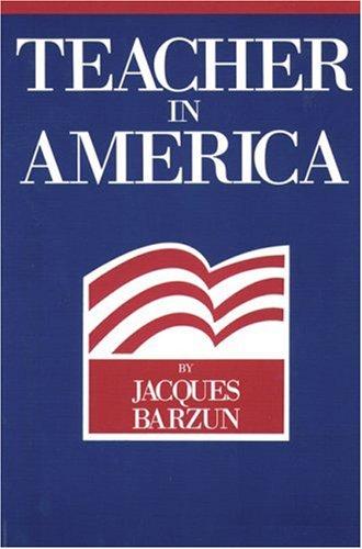 Teacher in America   1981 (Reprint) edition cover