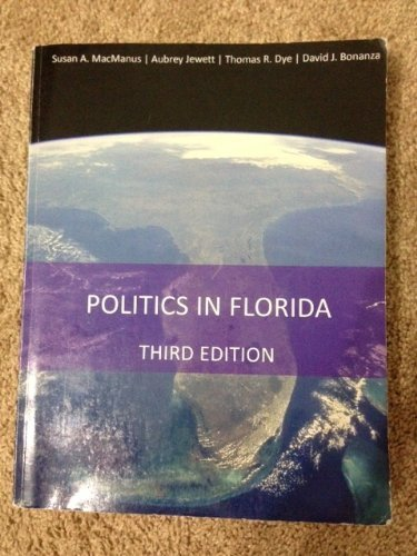 POLITICS IN FLORIDA                     N/A 9780964922792 Front Cover