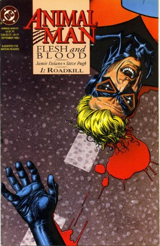 Animal Man Vol. 6: Flesh and Blood   2014 9781401246792 Front Cover