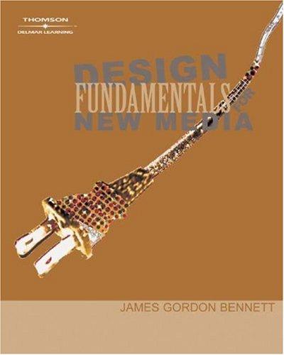 Design Fundamentals for New Media   2005 edition cover