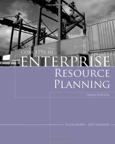 Concepts in Enterprise Resource Planning  3rd 2009 edition cover