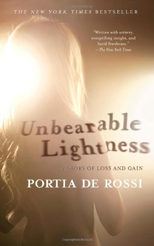 Unbearable Lightness A Story of Loss and Gain N/A edition cover